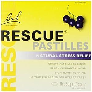 Nelson Bach - Rescue Pastilles Black Currant, 1.7 oz