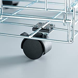 Universal Casters for Cages - 2 pack