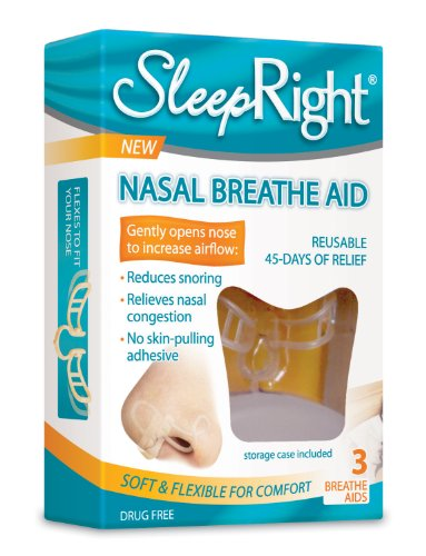 Nasal Breathe Aid, 3 Count