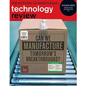 Audible Technology Review, January 2012 | [Technology Review]