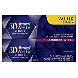 Crest 3D White Luxe Glamorous White, Vibrant Mint Flavor Whitening Toothpaste - 4.1 Oz Ea, Twin pack [並行輸入品]