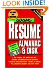Adams Resume Almanac and Disk: Disk Package (Adams Almanacs)