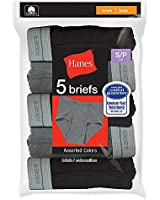 Hanes Boys' Dyed Brief (Pack of 5)