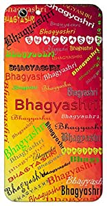 Bhagyashri (Goddess Lakshmi, Lucky) Name & Sign Printed All over customize & Personalized!! Protective back cover for your Smart Phone : Samsung Galaxy S5mini / G800