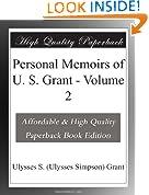 Personal Memoirs of U. S. Grant - Volume 2