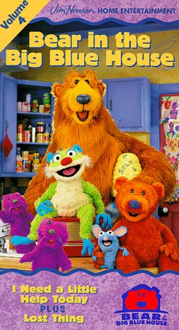 Bear in the Big Blue House, Vol. 4 - I Need a Little Help ...