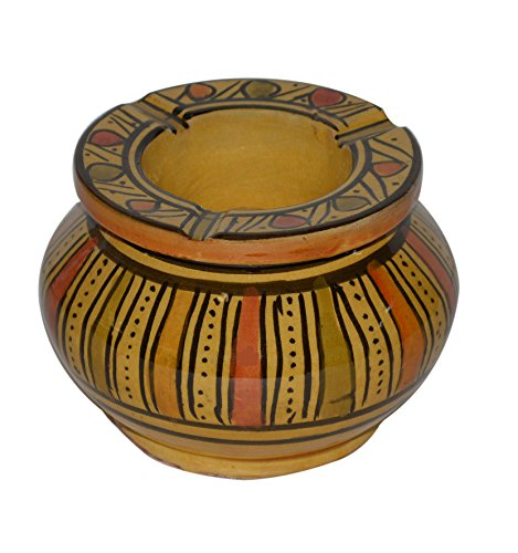Ceramic Ashtrays Handmade Moroccan