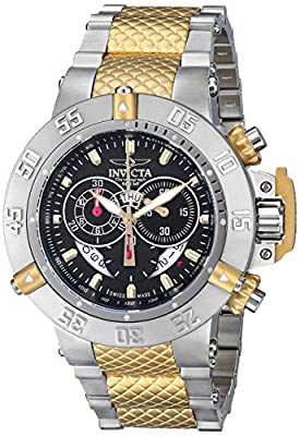 Invicta Men's 80508 Subaqua Analog Display Swiss Quartz Two Tone Watch