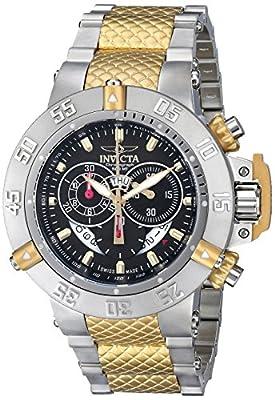 Invicta Men's 80508 Subaqua Analog Display Swiss Quartz Two Tone Watch