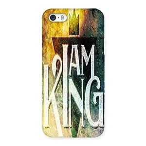 Ajay Enterprises Elite I King Back Case Cover for iPhone SE