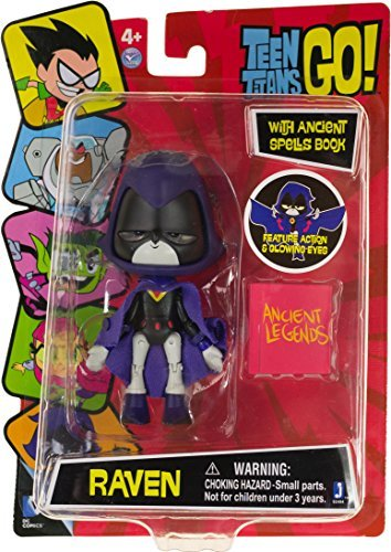 """Raven ~4.5"""" Figure w/ Accessories: Teen Titans Go! Figure with Accessory Series"""