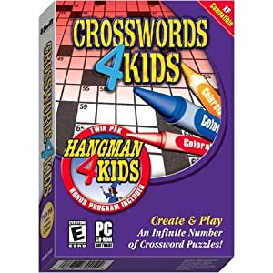 COSMI Crosswords 4 Kids / Hangman 4 Kids Twin Pak (Windows)
