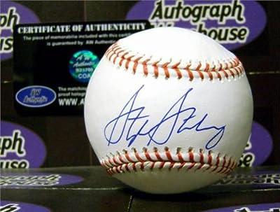 Stephen Strasburg autographed Baseball (Washington Nationals San Diego State Aztecs) MLB Authentication Hologram AW Certificate