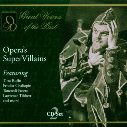 Opera'S Super Villains