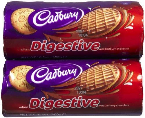 Cadbury Chocolate Cookie Digestive Biscuit, 10.5 oz, 2 pk