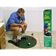 Potty Putter Putting Mat Golf Game
