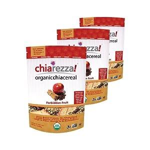 Chiarezza! - Forbidden Fruit - Organic Chia Cereal - 3pk