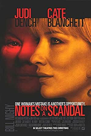 """Notes On A Scandal - Authentic Original 27"""" x 40"""" Movie Poster at"""