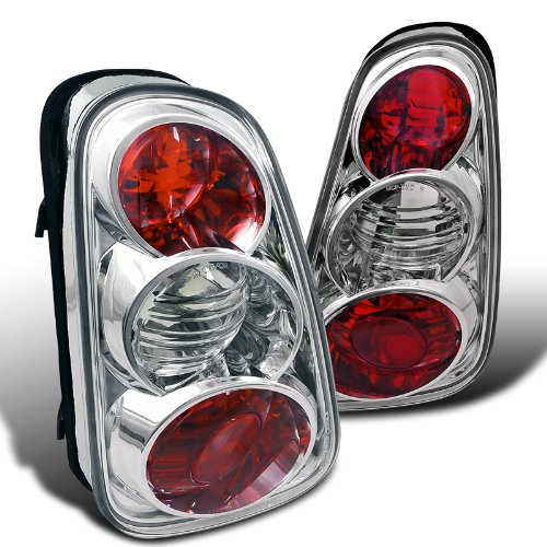 Spec-D Tuning LT-MINI01-TM Mini Cooper Base/ Mini Cooper S Chrome Altezza Tail Lights (Mini Cooper Tuning compare prices)