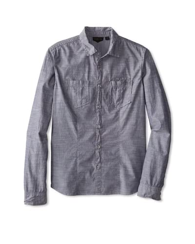 Rogue Men's Jacquard Dot Woven Shirt