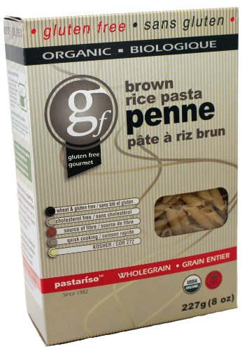 Pastariso Organic Brown Rice Penne, 8-Ounce (Pack of 12)