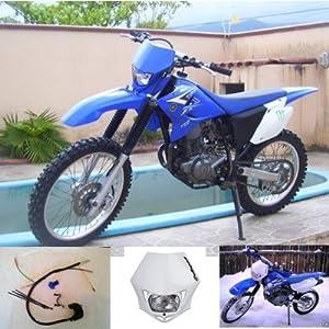 Yamaha ttr230 headlight kit blue automotive for Yamaha ttr 230 carburetor for sale