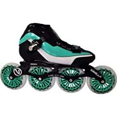Vanilla Empire Inline Speed Skates 4X110mm Wheels Size 5-13 by Skate Out Loud