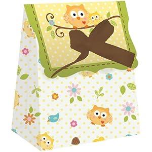 Happi Tree Favor Bags w/Ribbon