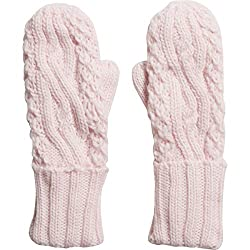 Fox Racing Girls Legendary Mitten Gloves, Pale Pink, One Size