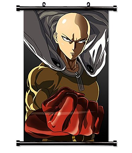 One Punch Man Anime Fabric Wall Scroll Poster (16 x 28) Inches