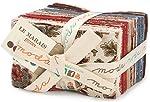 French General Le Marais 40 Fat Eighths Bundle Moda Fabrics 13730F8