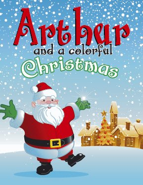 Personalized Christmas Coloring Book