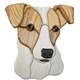 Jack Russell Terrier Wall Plaque