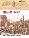 America's History, Combined Edition (0312443501) by James A. Henretta