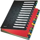 Leitz 59140095 Deskorganizer Color 1-24, 24 Fächer, Karton, schwarz
