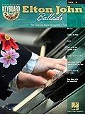 Elton John Ballads - Keyboard Play-Along Vol 9 Bk/CD (Hal Leonard Keyboard Play-Along)