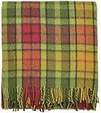 Classic Autumn Buchanan Tartan All Wool Blanket Rug