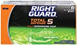 Right Guard Total Defense 5 in1 Deodorizing Soap Refreshing Bar, 4 oz (6 bars)