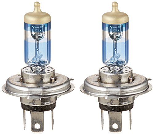 SYLVANIA 9003 (also fits H4) SilverStar Ultra High Performance Halogen Headlight Bulb, (Pack of 2)