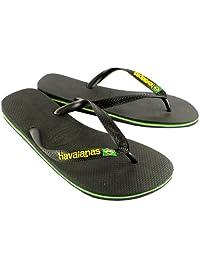 Mens Havaianas Brasil Logo Summer Flip Flops Sandal Slip On Flats