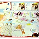 Girls Disney High School Musical Design DOUBLE Reversible Quilt/Duvet Cover Bedding Set