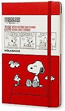 モレスキン ピーナッツ 手帳 2016 ウィークリー 限定版 1月始まり ラージ レッド DPE12WN3Y16