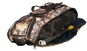 Tree Camouflage Cobra RTS Softball Baseball Bat Equipment Roller Bag by MAXOPS