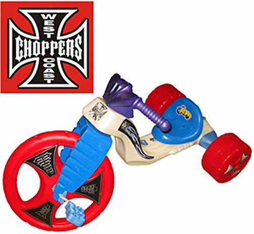 "The Original Big Wheel ""WEST COAST CHOPPER"" Trike Limited Edition Ride-on with Red Wheels"