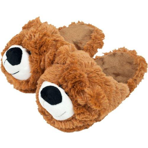 Cuddlee Pet SLIPPERS - Teddy Bear - Small Cuddlee