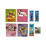 Disney Mickey & Minnie Mouse Back To School Accessories Set