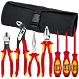 Knipex 989825US 7-Piece Insulated Commercial Tool Set