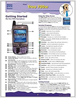 Palm treo 700w owners manual
