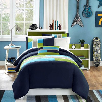 Pipeline Comforter Set Size: Full / Queen