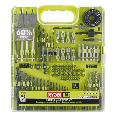 Ryobi 90-Piece Drilling And Driving Accessory Kit from Ryobi